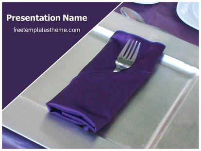 Free hotel table setting powerpoint template freetemplatestheme slide1g pronofoot35fo Image collections