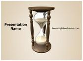 Free Hourglass PowerPoint Template Background, FreeTemplatesTheme