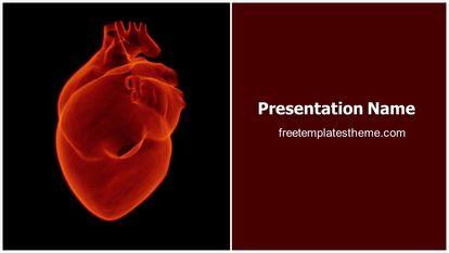 Free human heart powerpoint template freetemplatestheme slide1g toneelgroepblik Choice Image