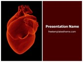 Free Human Heart PowerPoint Template Background, FreeTemplatesTheme