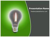 Free Idea Bulb PowerPoint Template Background, FreeTemplatesTheme