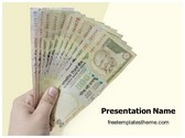 Free Indian Currency Demonetisation PowerPoint Template Background, FreeTemplatesTheme
