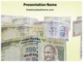Free Indian Demonetisation PowerPoint Template Background, FreeTemplatesTheme