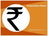 Free Indian Rupee Symbol PowerPoint Template Background, FreeTemplatesTheme