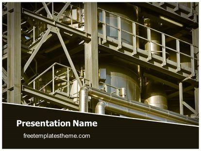 Free industrial plant powerpoint template freetemplatestheme slide1g toneelgroepblik Choice Image