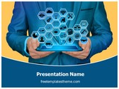 Free Industrial Signs PowerPoint Template Background, FreeTemplatesTheme