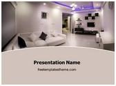 Free Interior Designing PowerPoint Template Background, FreeTemplatesTheme