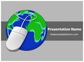 Free Internet Concept PowerPoint Template Background, FreeTemplatesTheme