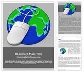 Free Internet Concept Word Template Background, FreeTemplatesTheme