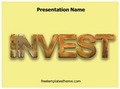 Free Invest PowerPoint Template Background, FreeTemplatesTheme