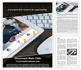 Free Ipad Keyboard Mouse Word Template Background, FreeTemplatesTheme