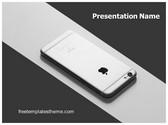 Free Iphone PowerPoint Template Background, FreeTemplatesTheme
