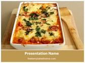 Free Italian Food PowerPoint Template Background, FreeTemplatesTheme