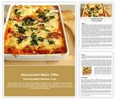 Free Italian Food Word Template Background, FreeTemplatesTheme