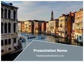 Free Italy Venice City PowerPoint Template Background, FreeTemplatesTheme