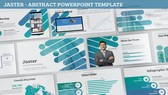 Jaster Abstract PowerPoint Template Background, FreeTemplatesTheme
