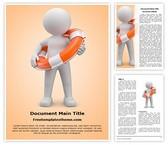 Free Lifeguard Word Template Background, FreeTemplatesTheme