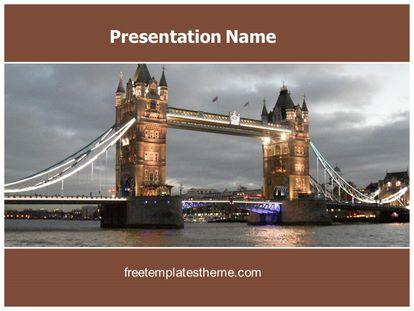 Free london bridge powerpoint template freetemplatestheme slide1g toneelgroepblik Choice Image