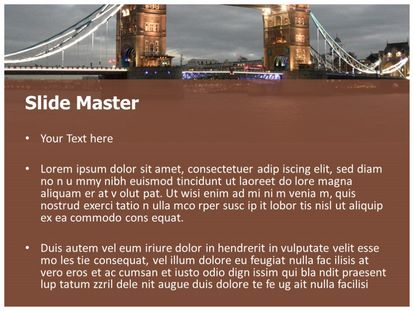 Free london bridge powerpoint template freetemplatestheme slide1g slide2g toneelgroepblik Choice Image
