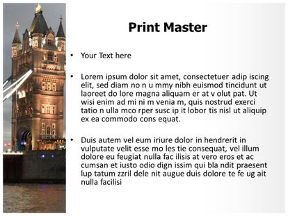 Free london bridge powerpoint template freetemplatestheme slide1g slide2g slide3g toneelgroepblik Choice Image