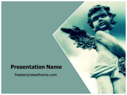 Free love angel baby powerpoint template freetemplatestheme slide1g toneelgroepblik Images