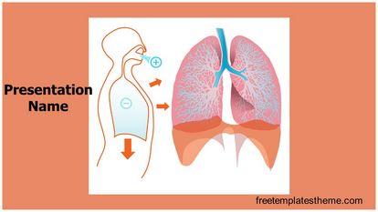 Free lungs powerpoint template freetemplatestheme slide1g toneelgroepblik Image collections