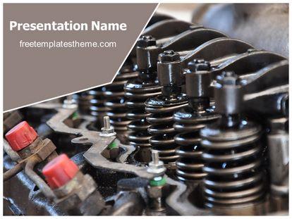 Free machinery shock absorber powerpoint template slide1g toneelgroepblik Gallery
