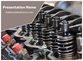 Free Machinery Shock Absorber PowerPoint Template Background, FreeTemplatesTheme