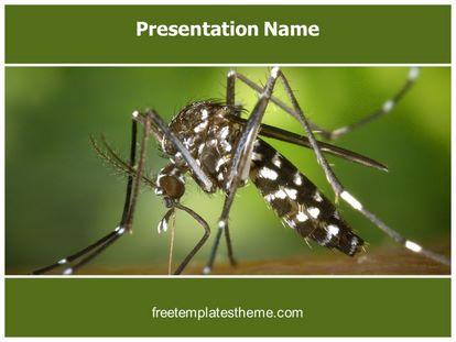 Free malaria mosquito powerpoint template freetemplatestheme slide1g toneelgroepblik Choice Image