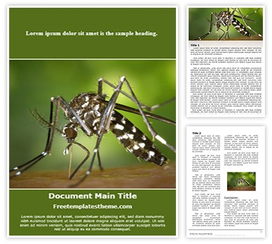 Free malaria mosquito word template freetemplatestheme malaria mosquitog toneelgroepblik Choice Image