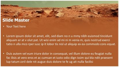 Free mars red planet powerpoint template freetemplatestheme slide1g slide2g toneelgroepblik Image collections