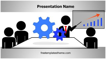 Mechanical Training Free Powerpoint Background Widescreen FreeTemplatesTheme