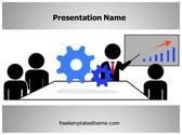 Free Mechanical Training PowerPoint Template Background, FreeTemplatesTheme