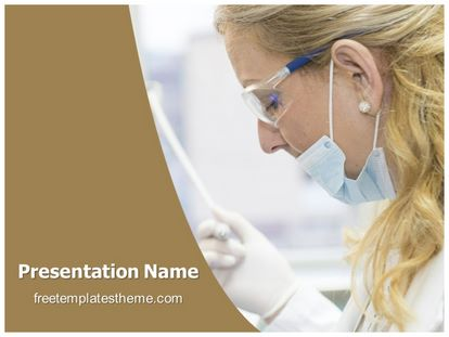 Free medical laboratory expert powerpoint template slide1g toneelgroepblik Image collections