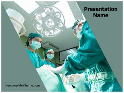 Free medical operation team powerpoint template slide1g toneelgroepblik Image collections