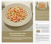 Free Medicine Diet Word Template Background, FreeTemplatesTheme