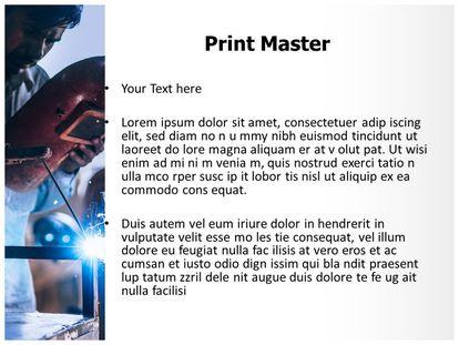 Metal Welding Free PPT Template, PPT Slide3
