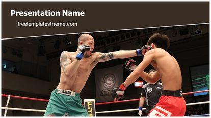 Free mixed martial arts powerpoint template freetemplatestheme slide1g toneelgroepblik Image collections