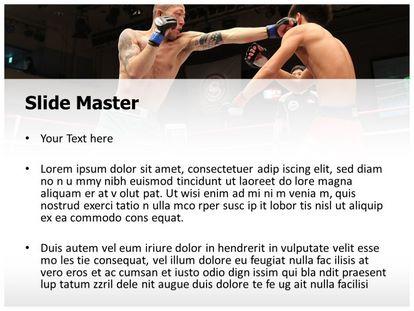 Free mixed martial arts powerpoint template freetemplatestheme slide1g slide2g toneelgroepblik Choice Image