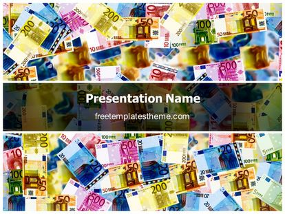 free money background powerpoint template