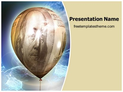 free money inflation powerpoint template