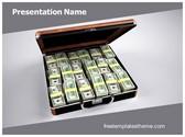 Free Money Laundering PowerPoint Template Background, FreeTemplatesTheme