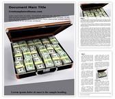 Free Money Laundering Word Template Background, FreeTemplatesTheme