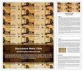 Free Money Printing Word Template Background, FreeTemplatesTheme