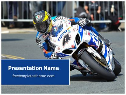 Free motogp motorbike powerpoint template freetemplatestheme slide1g toneelgroepblik Choice Image