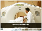 Free MRI Scan PowerPoint Template Background, FreeTemplatesTheme