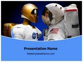 Free NASA Robonaut PowerPoint Template Background, FreeTemplatesTheme