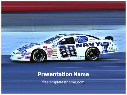 Free nascar racing powerpoint template freetemplatestheme slide1g toneelgroepblik Gallery