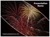 Free New Year Celebration PowerPoint Template Background, FreeTemplatesTheme