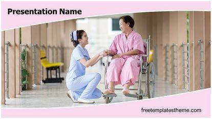 Free Nursing Powerpoint Template Freetemplatestheme Com